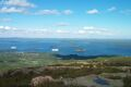 Bar Harbor, ME from Cadillac Mountain in Acadia National Park