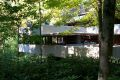 Fallingwater viewed from the driveway