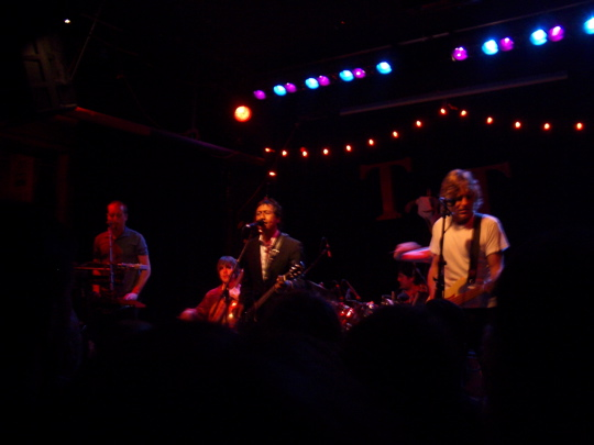 Alejandro Escovedo and most of his band