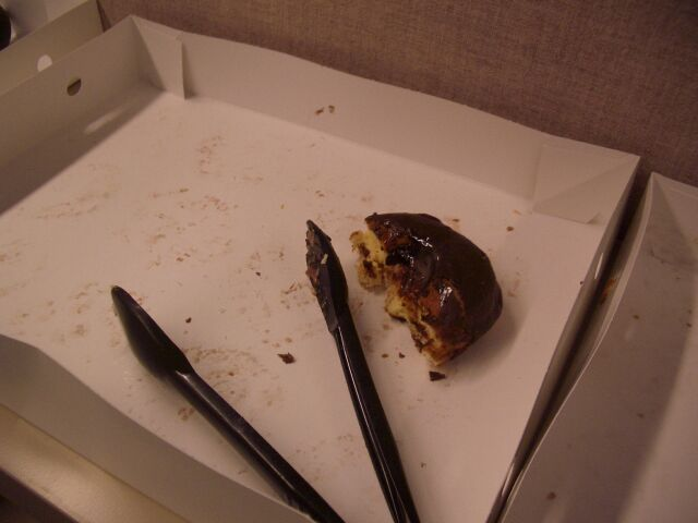 Half a donut